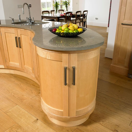 Interior design chatter september 2012 for Kitchen island with rounded end