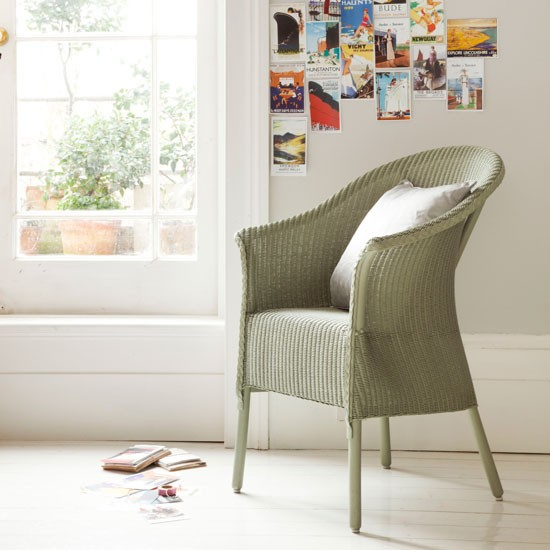 Belvoir armchair by Lloyd Loom | Livingetc design classics | modern decorating | furniture and accessories | PHOTO GALLERY | Livingetc | Housetohome