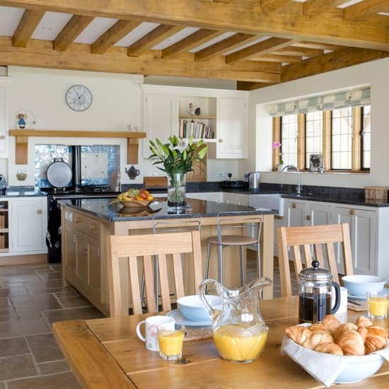 Kitchen-diner with beams | Family kitchens - 10 of the best ...