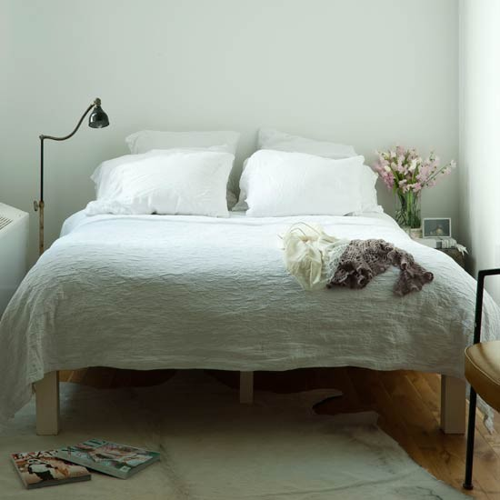 Sophisticated white bedroom | Bed | Bedroom idea | Image | Housetohome