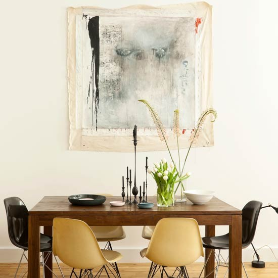 Edgy dining room | Table | Dining room idea | Image | Housetohome