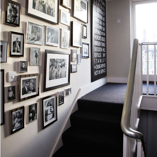 Picture perfect hallway | Silver paint | Hallway design | Image | Housetohome