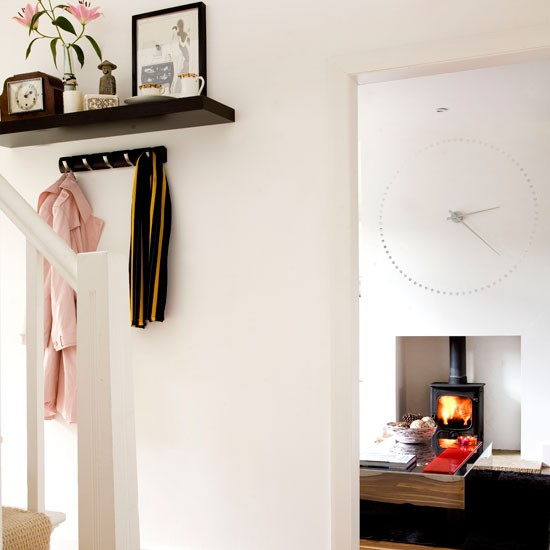 Add floating shelves | 10 space-saving hallway ideas | Hallways | Decorating ideas | Hallway design | PHOTO GALLERY | Housetohome