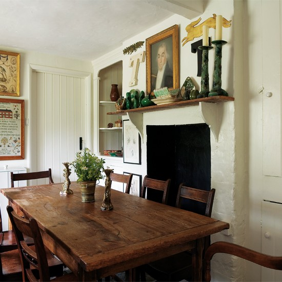 Dining room | Comfortable country retreat | Homes & Gardens