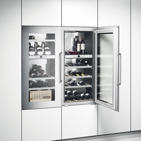 Rw 424 from gaggenau wine coolers 10 of the best - Kitchens with wine coolers ...