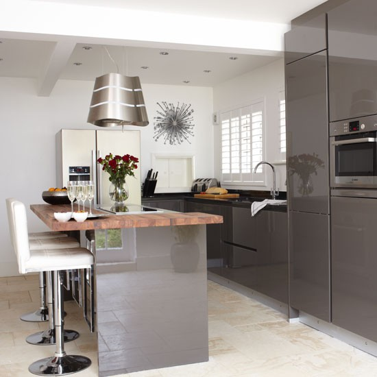 Gray Kitchen Makeovers: Be Inspired By This Ultramodern Kitchen Makeover
