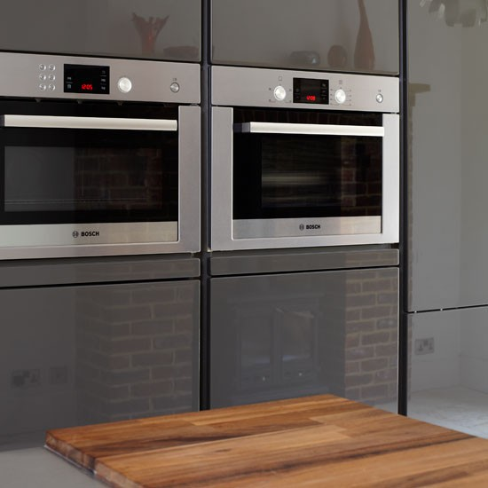 Modern Kitchen Microwave: Be Inspired By This Ultramodern Kitchen