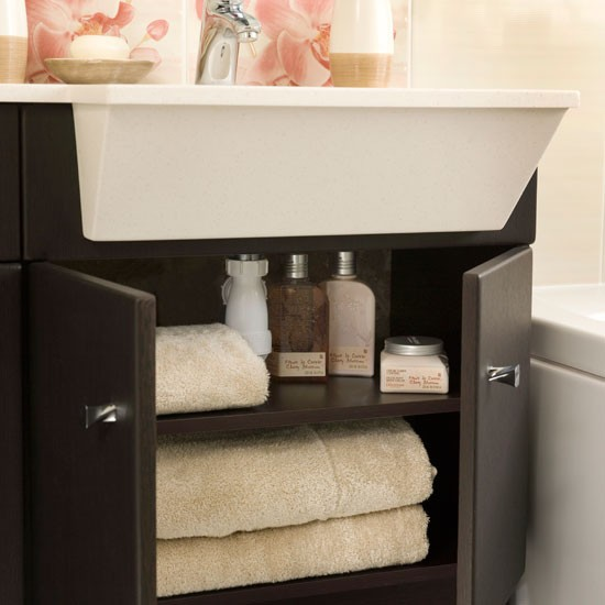 Bathroom Sink Units : Sink unit Feminine bathroom Ideal Home bathroom makeover ...