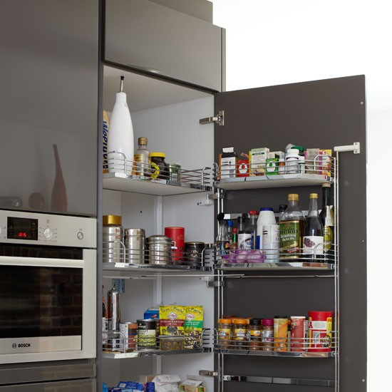 Larder Cupboard Be Inspired By This Ultramodern Kitchen
