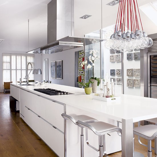 Inside Modern Mansion House Kitchen : Inside-story---Homes-and-Gardens---House-Tours---London-Town-House ...