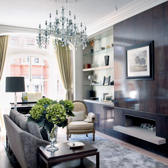 Living room | Take a tour around around an elegant London apartment | house tours | housetohome
