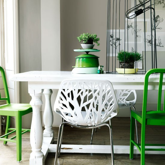 modern green dining room green paint dining room decorating idea
