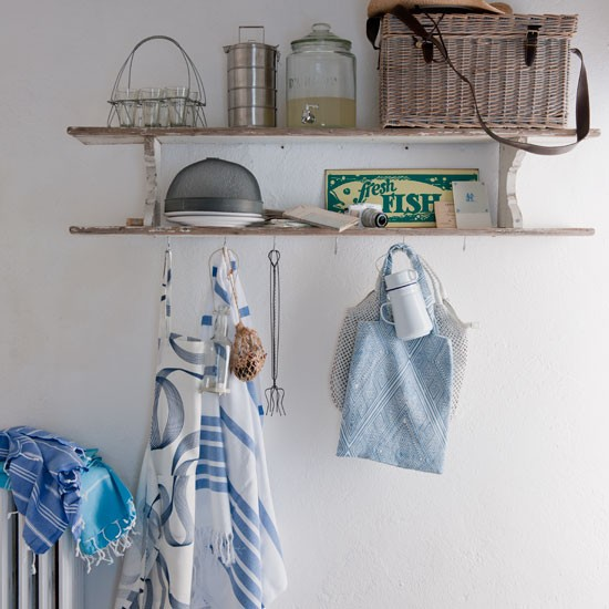 Rustic kitchen storage | Shelving | Kitchen idea | Coastal living | Image | Housetohome