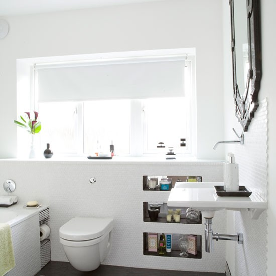 be inspired by this light and bright bathroom makeover