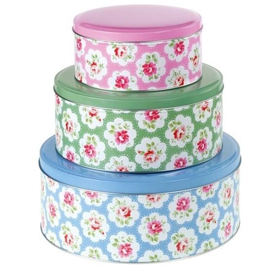 Cath Kidston Cake Storage Tins