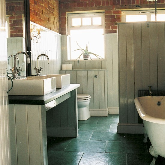 Bathroom take a tour around a quirky beach house for Quirky bathroom designs