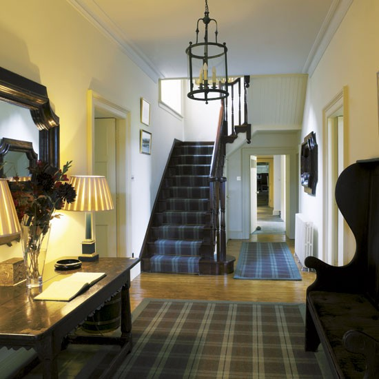 Hallway Take A Tour Around A Scottish Highland Retreat Housetohome