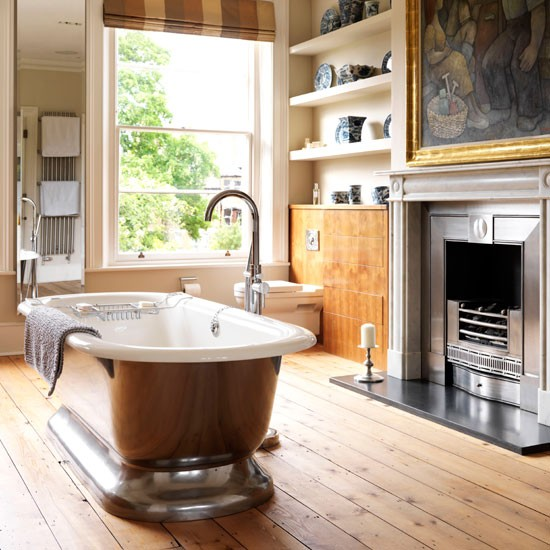 Bathroom | Victorian villa in Oxford | Homes & Gardens | House Tour