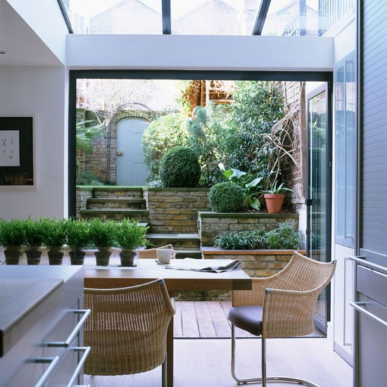 Conservatory | Contemporary London home | Homes & Gardens house tour | PHOTO GALLERY | Housetohome