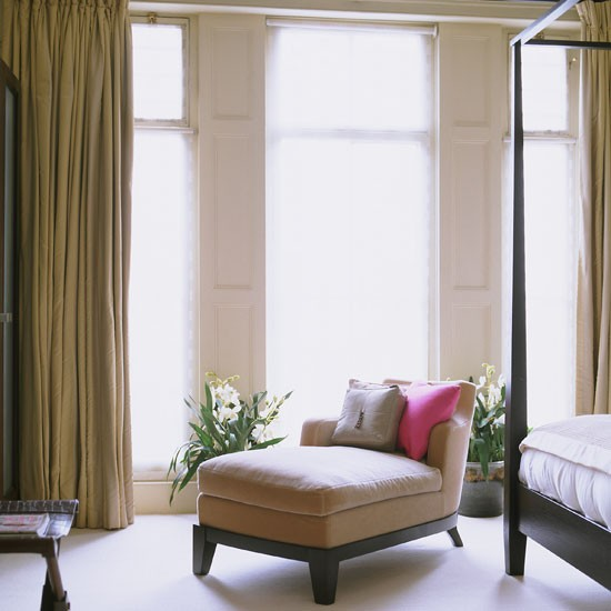 Bedroom Seating Contemporary London Home Homes Gardens House