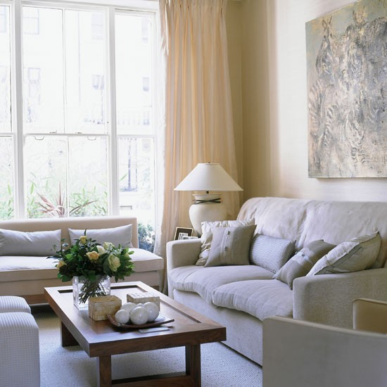 Neutral Living Room Take A Tour Of This Contemporary London Home Housetoh