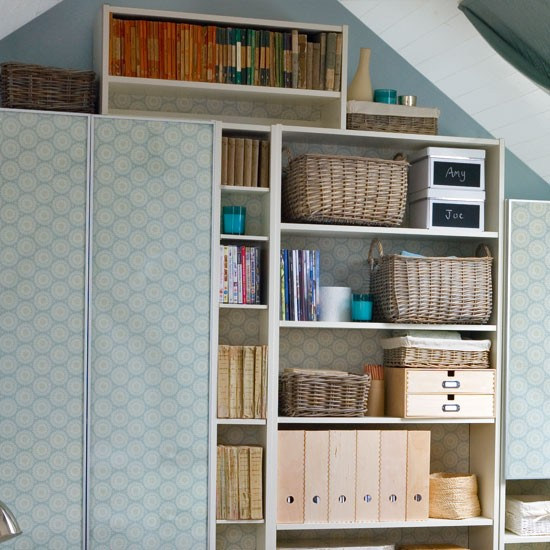 Plan your storage | Makeover your attic room in 5 steps | Attic living room storage | Storage design ideas | Image | Housetohome