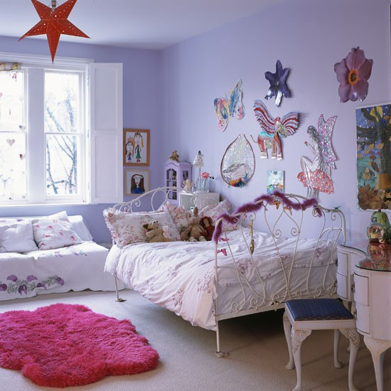 Lilac kids 39 bedroom step inside this dramatic open plan for Bedroom ideas lilac
