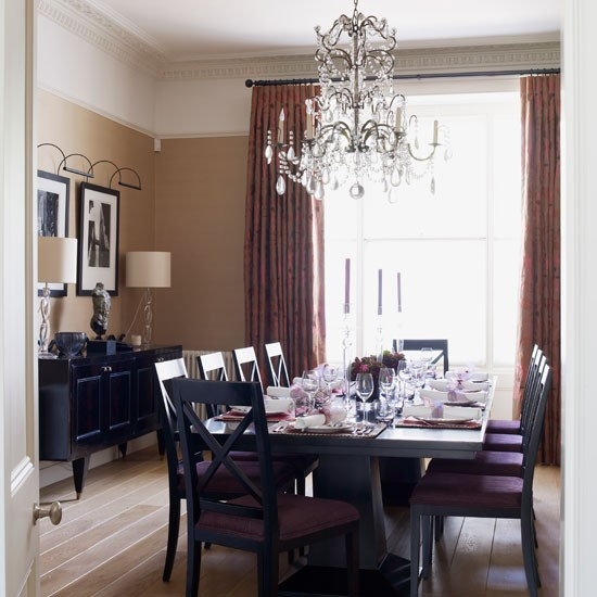Dining room | step inside an elegant yet practical family home | house tours | housetohome