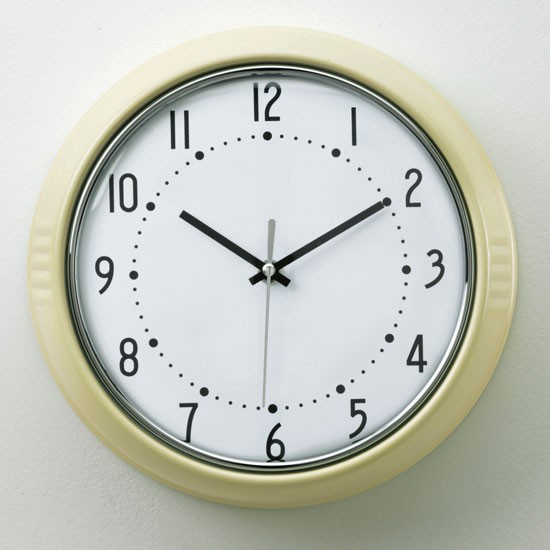 Wall clock from Homebase | Kitchen idea | Retro buys | Country Homes & Interiors | Shopping