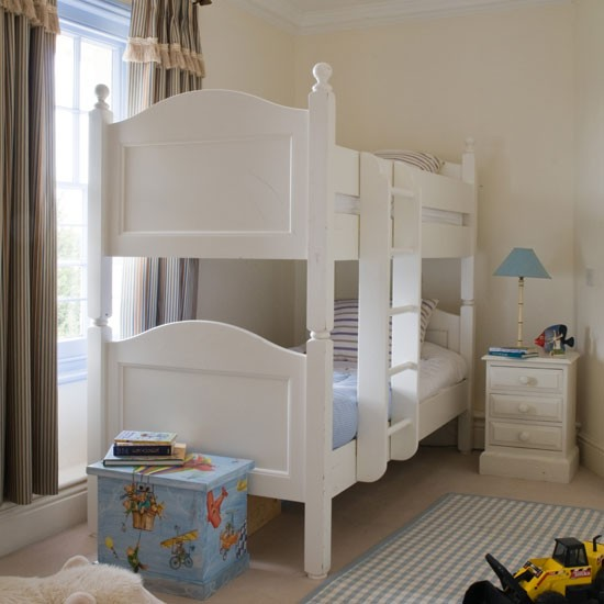 Children's bedroom with bunk bed | Bunk bed | Children's bedroom design | Image | Housetohome