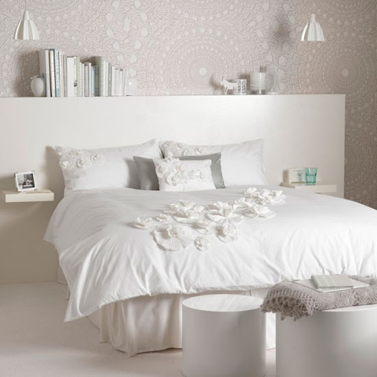 Modern white bedroom | Bed | Bedroom idea | Modern white | Image | Housetohome
