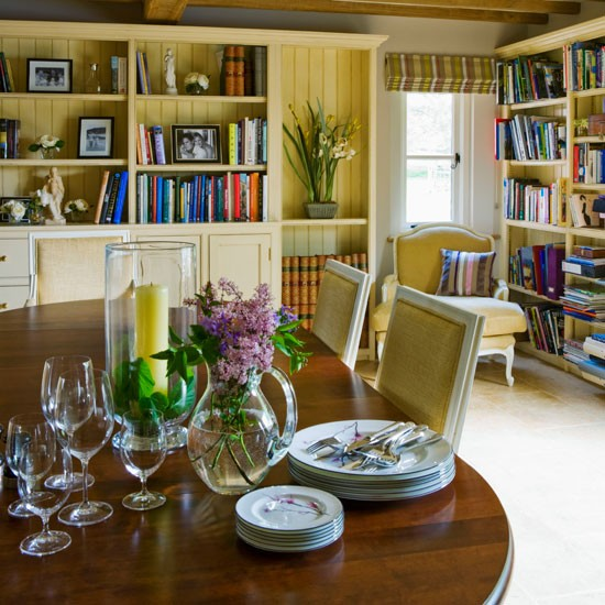 Dining Room Rural Warwickshire House Tour Housetohome