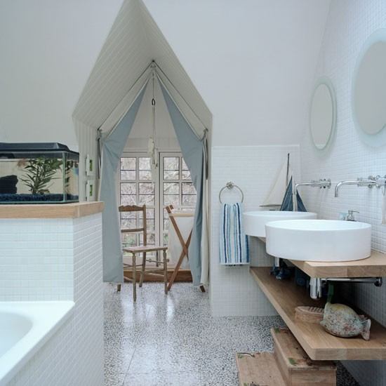 Children 39 S Bathroom Step Inside A Modern Arts And Crafts Home In South West London