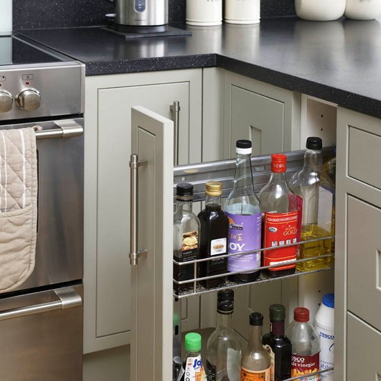 Clever storage be inspired by this contemporary open for Clever kitchen storage ideas