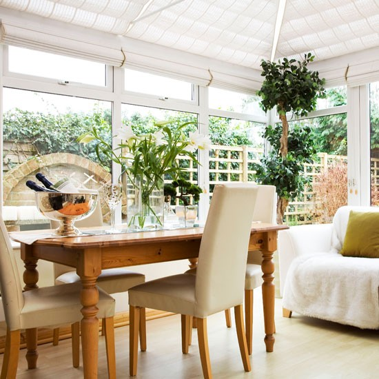 Fresh conservatory living space | Conservatories | Conservatory decorating ideas | PHOTO GALLERY | Housetohome.co.uk
