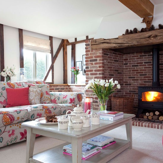 country style living room cosy living room design ideas