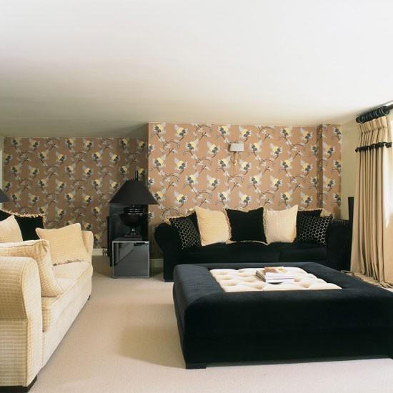 modern monochrome living room modern monochrome living room cosy living room design ideas - Cosy Living Room Designs