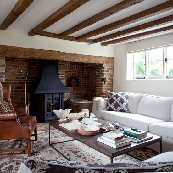 Country Cottage Living Room Cosy Living Room Design Ideas