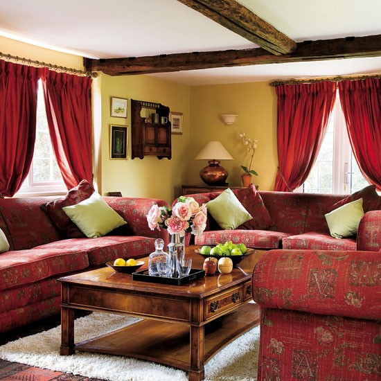 Red Country Living Room Ideas | 550 x 550 · 99 kB · jpeg