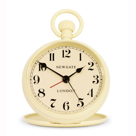 Regulator alarm clock from Newgate | Bedroom idea | Floral country buys | Country Homes & Interiors | Shopping