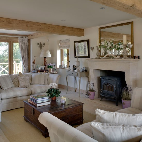 Drawing Room Be Inspired By This Rustic New Build House: new build living room designs