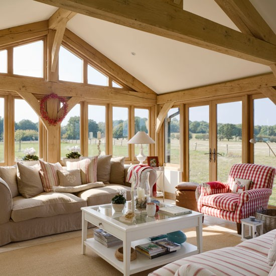 Living room be inspired by this rustic new build house New build living room designs