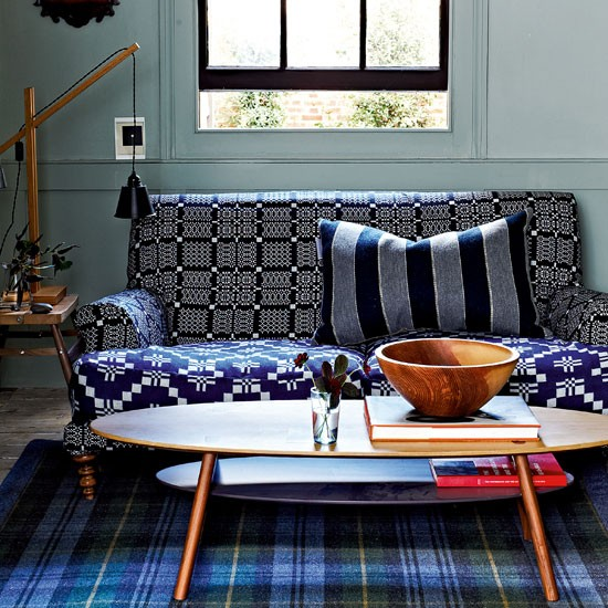 Mix different-sized geometrics | How to give your home an artisan touch | Classic decorating ideas | decorating | British crafts | PHOTO GALLERY | Homes & Gardens | Housetohome