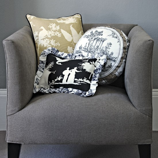 cushions design ideas decorating with toile classic decorating