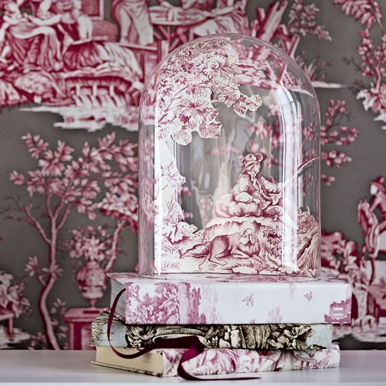 Mix toile with toile | Design ideas: decorating with toile | classic decorating ideas | toile | PHOTO GALLERY | Homes & Gardens | Housetohome
