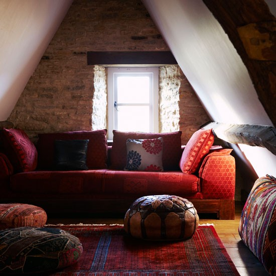 Attic | Be inspired by this warm and cosy cottage retreat | Country Homes & Interiors house tour | PHOTO GALLERY | housetohome
