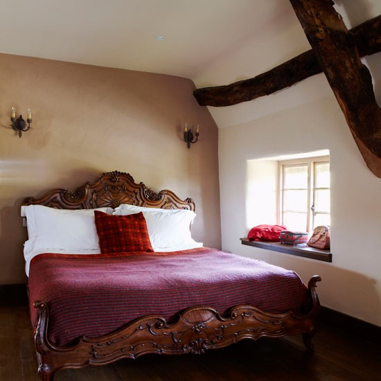 Bedroom | Be inspired by this warm and cosy cottage retreat | Country Homes & Interiors house tour | PHOTO GALLERY | housetohome