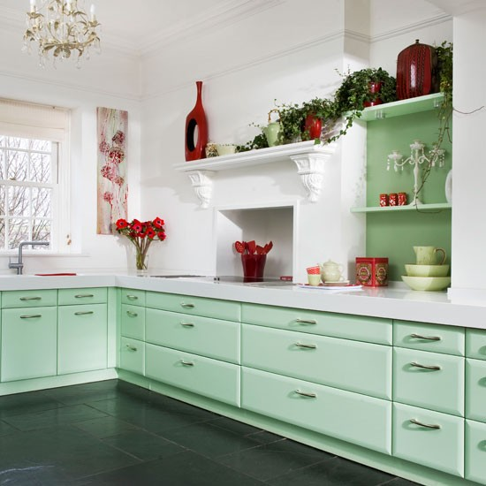 Step Inside This Minty Fresh Country