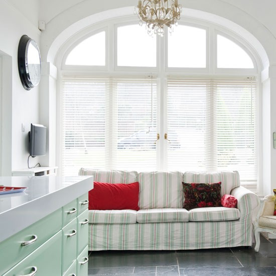 Arched window | Fresh cottage kitchen | Beautiful Kitchens tour | PHOTO GALLERY | Housetohome