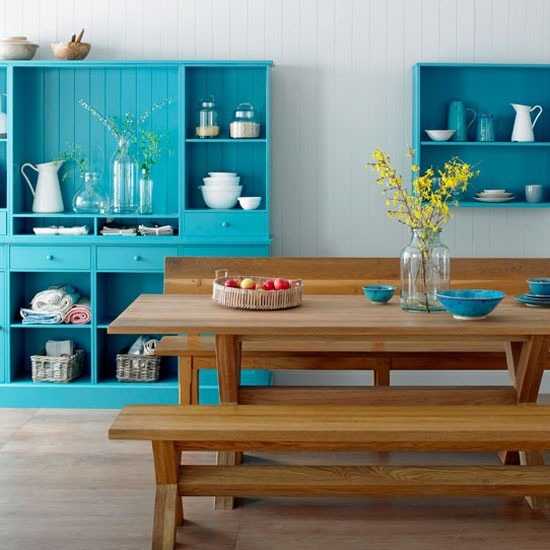Functional kitchen-diner | Kitchen-diner idea | Paint colour | Image | Housetohome